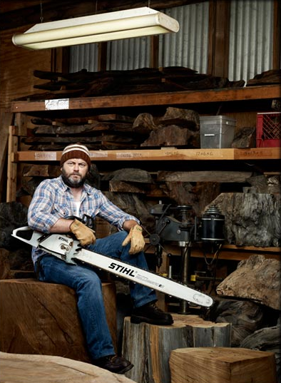 Nick offerman woodshop a squaredstudio